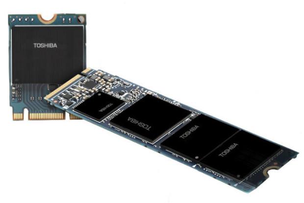 Новая SSD-память Toshiba