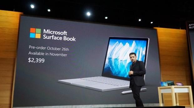 Презентация Microsoft Surface Book Core i7