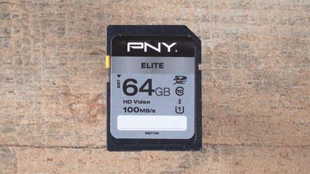 Бюджетная SD-карта PNY Elite Performance SDXC
