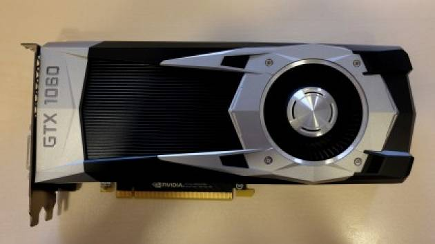 Видеокарта Nvidia GeForce GTX 1060