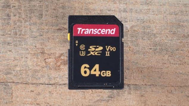 Лучшая SD-карта 2021 - Transcend SDXC UHS-II U3