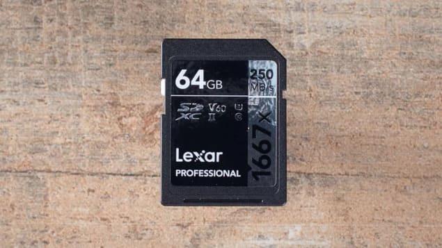 SD-карта для видео 4К - Lexar Professional 1667x SDXC UHS-II