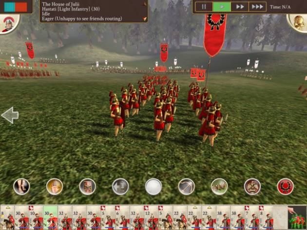 Rome Total War на Apple iPad