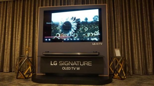 Обзор LG OLED W8 Signature Series