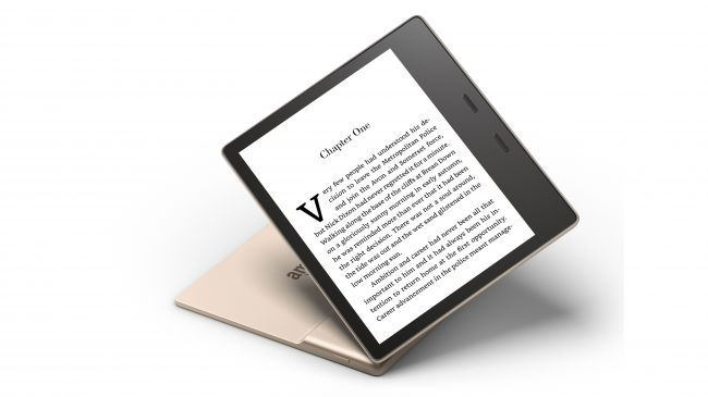 Amazon Kindle Oasis Champagne Gold