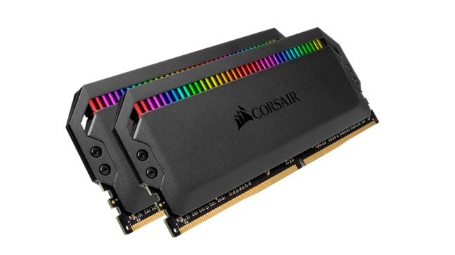 Лучшая ОЗУ - Corsair Dominator Platinum RGB
