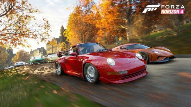 Лучшие игры - Forza Horizon 4