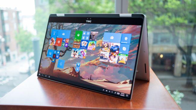 Лучший ноутбук 2 в 1 - Dell XPS 15 2-in-1