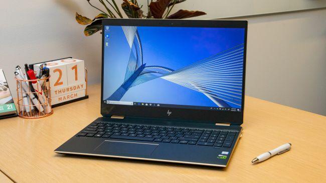 Лучший ноутбук 2 в 1 - HP Spectre x360 15T (2019)