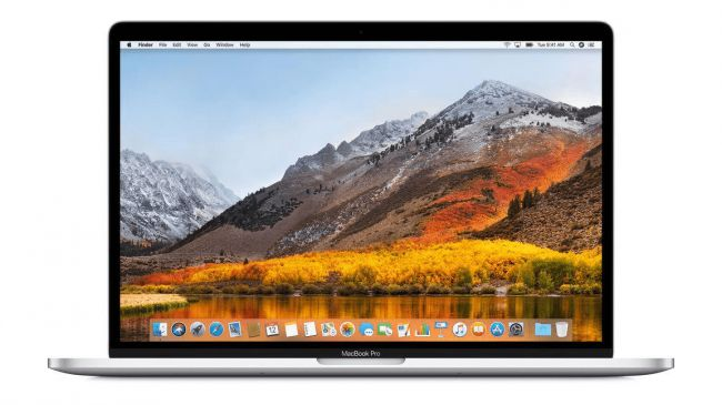 Ноутбук для видеоредактора - Apple MacBook Pro 15 (2018)