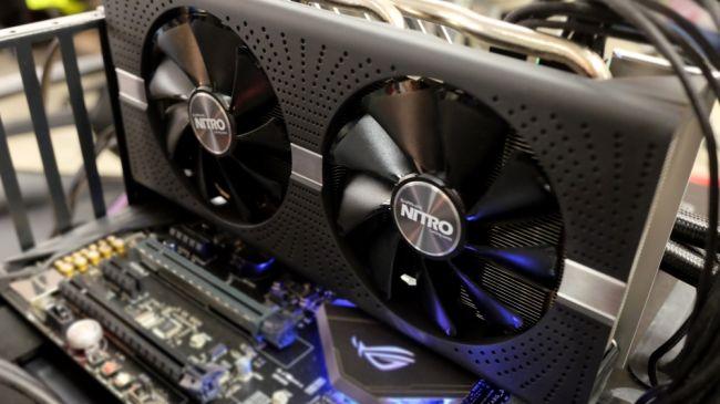 Видеокарта для майнинга - AMD Radeon RX580