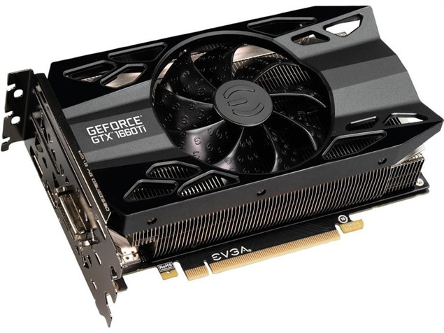 Видеокарта EVGA GeForce GTX 1660 Ti XC Gaming