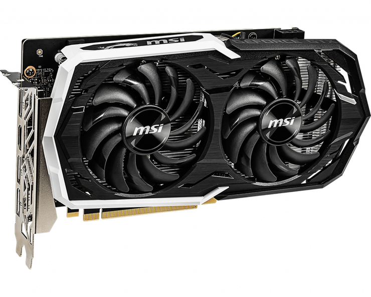 Видеокарта MSI GeForce GTX 1660 TI Armor OC