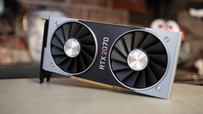 Видеокарта Nvidia GeForce RTX 2070