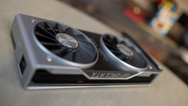 Видеокарта Nvidia GeForce RTX 2070