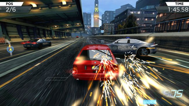 Гонки на планшет - Need for Speed - Most Wanted