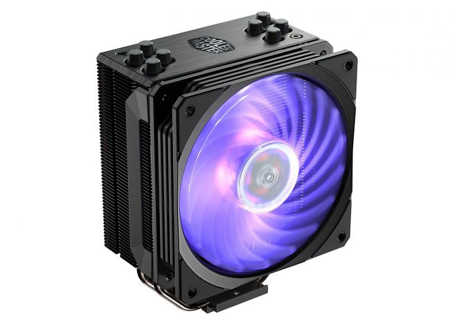 Кулер для процессора - Cooler Master Hyper 212 RGB Black Edition