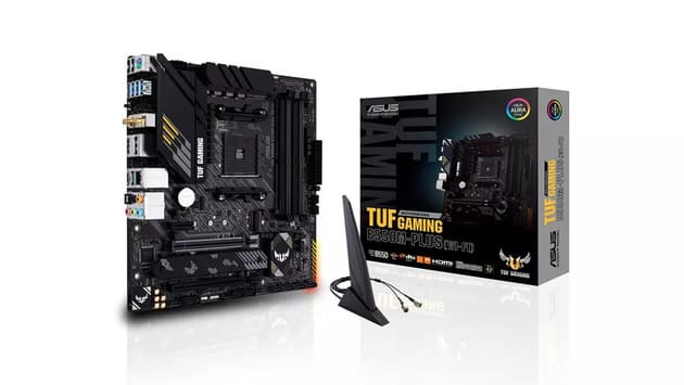 Лучшая Micro ATX под AMD - Asus TUF Gaming B550M-PLUS