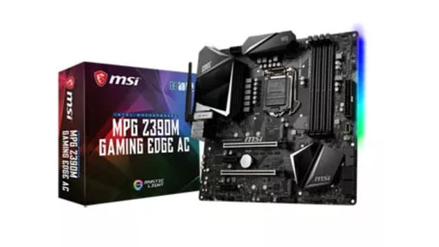 Лучшая micro-ATX под Intel - MSI MPG Z390M Gaming Edge AC