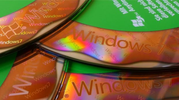 Диски Windows 7