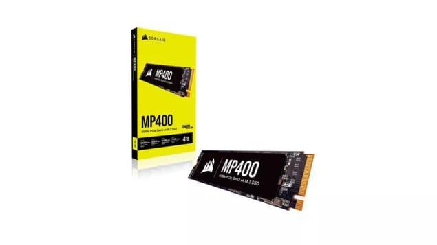 Лучший игровой SSD - Corsair MP400