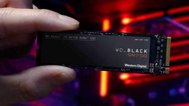 SSD-память на порт M.2