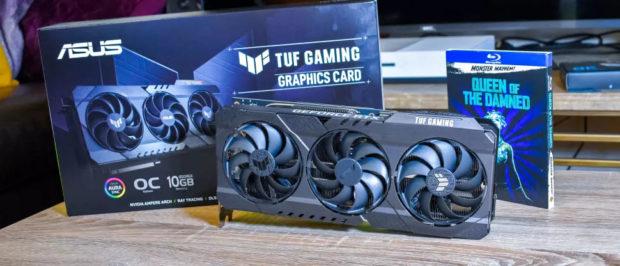 Обзор Asus GeForce RTX 3080 TUF Gaming OC