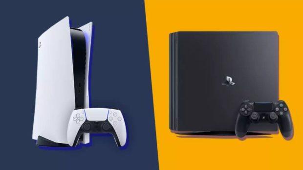 PlayStation 5 и PlayStation 4