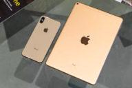 iPad Air 4 рядом с iPhone XS