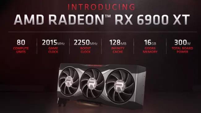 Характеристики AMD Radeon RX 6900 XT