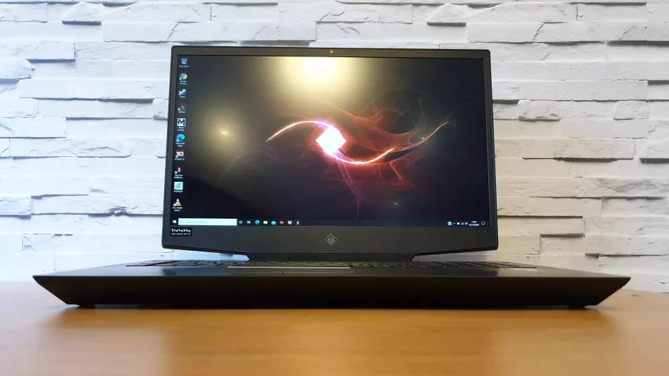 Экран HP Omen 17 (2020)