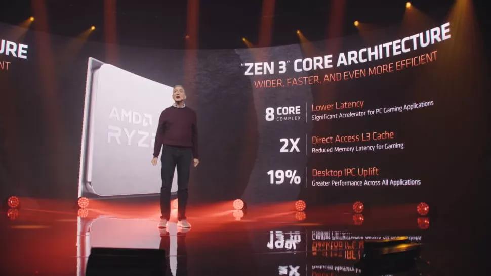 Архитектура ядра Zen 3