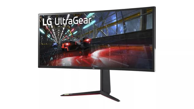 Изогнутый монитор LG UltraGear 38GN950
