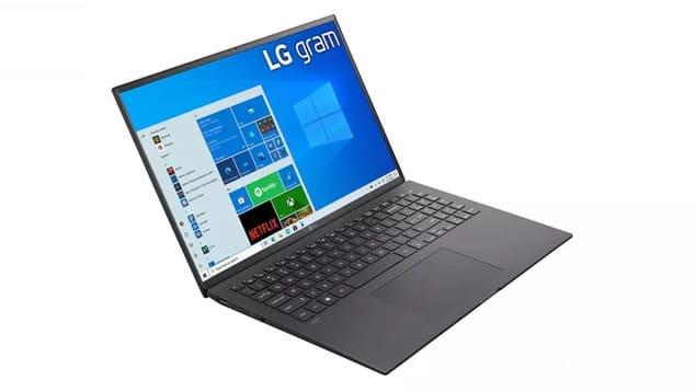 Ноутбук для учебы LG Gram 17 (2021)
