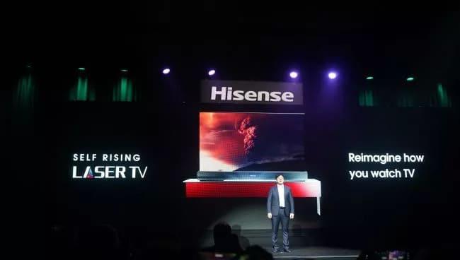 Hisense на выставке CES 2021
