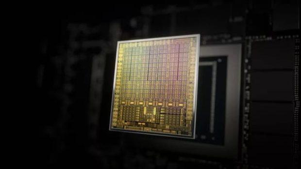 Графический чип Nvidia RTX 30