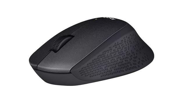 Дешевая бесшумная мышь Logitech M330 Silent Plus