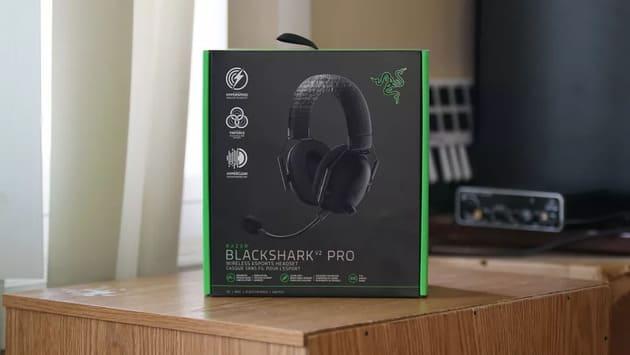Коробка гарнитуры Razer BlackShark V2 Pro