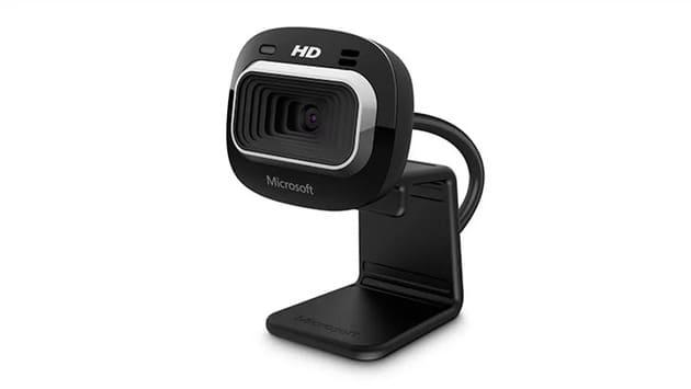 Лучшая камера для работы из дома - Microsoft LifeCam HD-3000