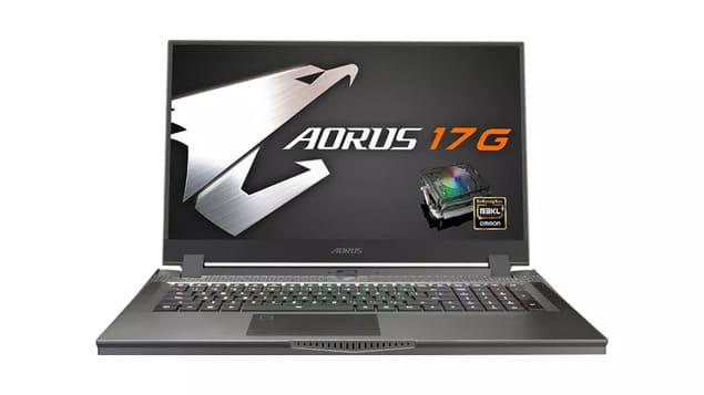 Лучший игровой ноутбук Gigabyte Aorus 17G (2021)