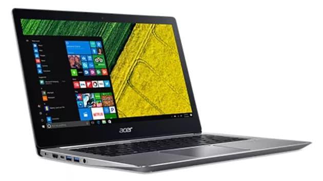 Лучший ноутбук для работы из дома Acer Swift 3