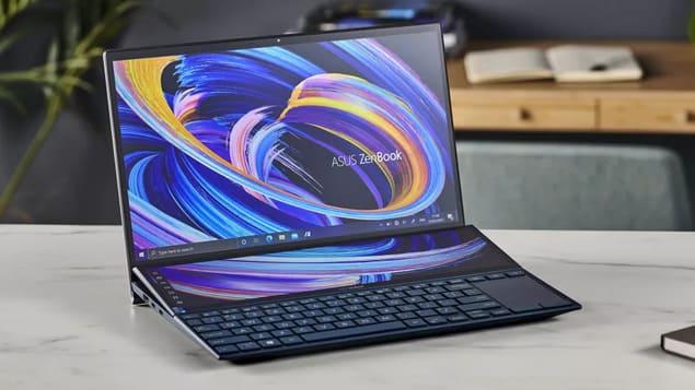 Лучший ноутбук Asus ZenBook Duo 14 UX482E