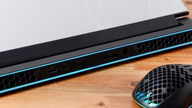 Охлаждение Alienware m17 2021 года