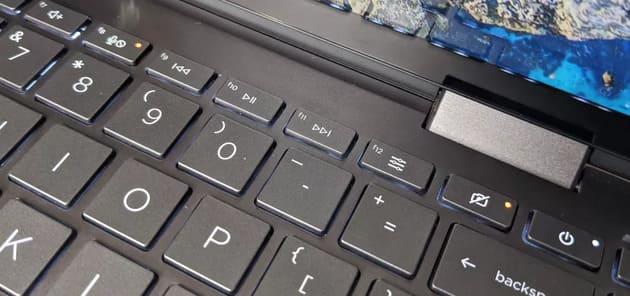 Функциональные клавиши HP Envy x360 13 (2020)
