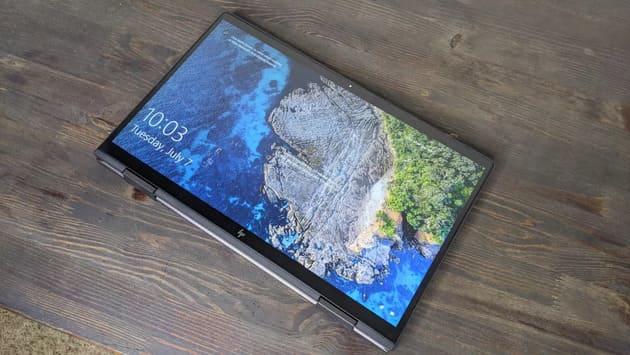 HP Envy x360 13 (2020) в режиме планшета