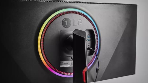 RGB-подсветка LG UltraGear 38GN950