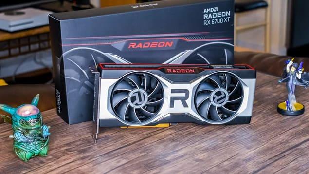 Видеокарта AMD Radeon RX 6700 XT
