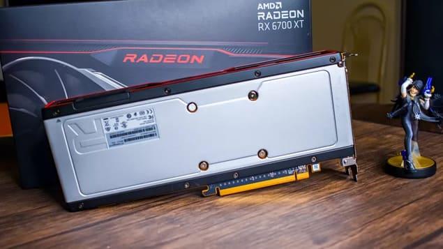 Корпус AMD Radeon RX 6700 XT