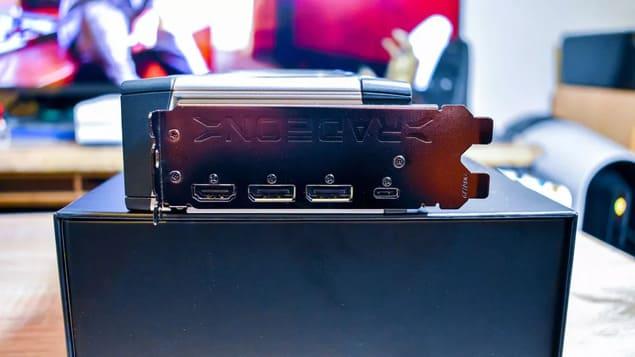 Порты AMD Radeon RX 6800 XT