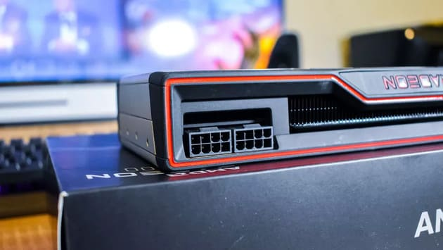 8-контактные разъемы AMD Radeon RX 6800